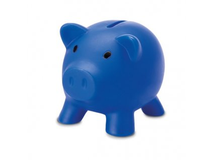 Pokladnička prasiatko , Blue