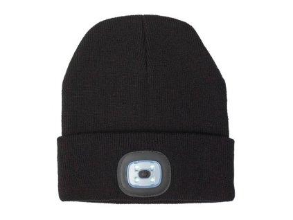 Akrylová čiapka s COB svetlom , Black