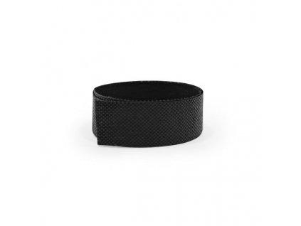 Dekoračná páska na potlač pre slamené klobúky , Black