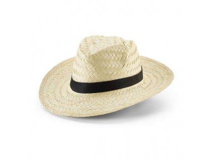 Slamený klobúk, dodávaný bez dekoračnej pásky , light natural