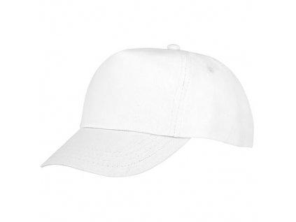 Feniks | Detská 5-panelová čiapka , white