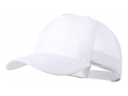 5 panelová baseballová čiapka , white