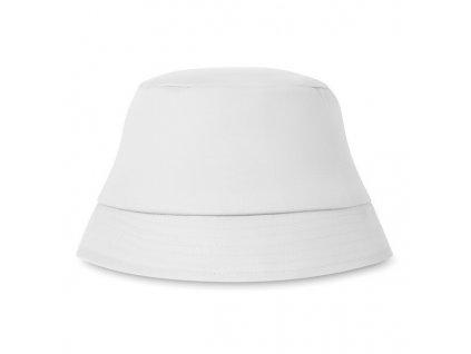 Bavlnený slnečný klobúk , white