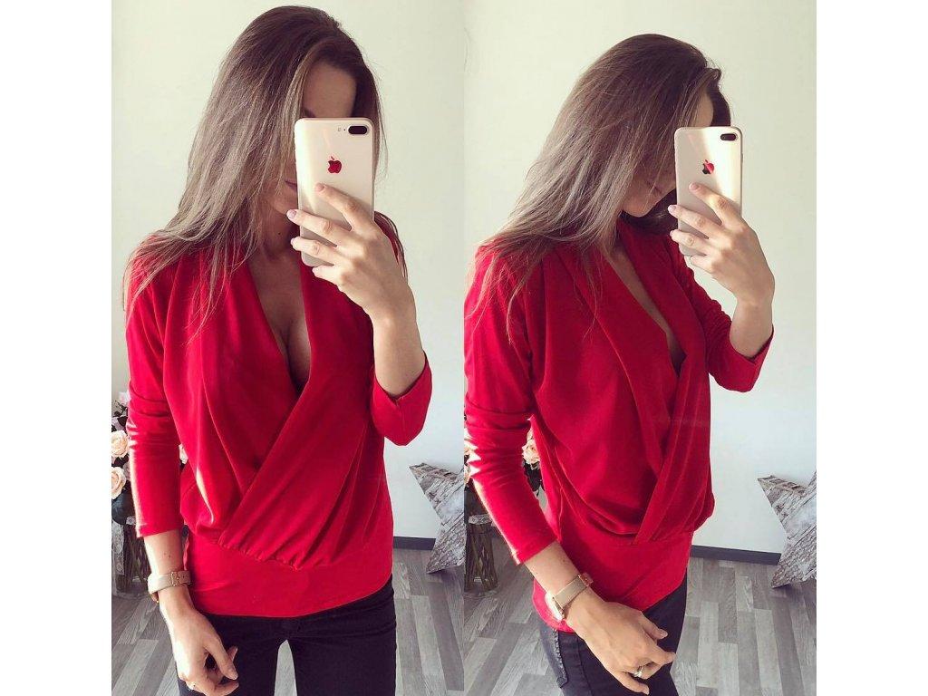 luxury červená