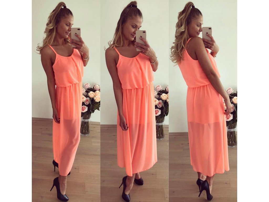 ella two neon oranz