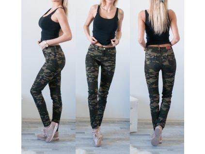 Vojenské kalhoty Amazing RF007 vojenská
