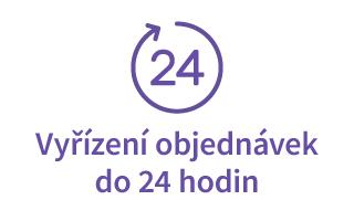 Vyřízení objednávek do 24 hodin