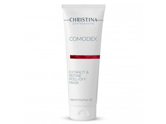 Comodex Slupovací maska pro exfoliaci a čištění pórů