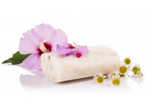 hibiskus mydlo
