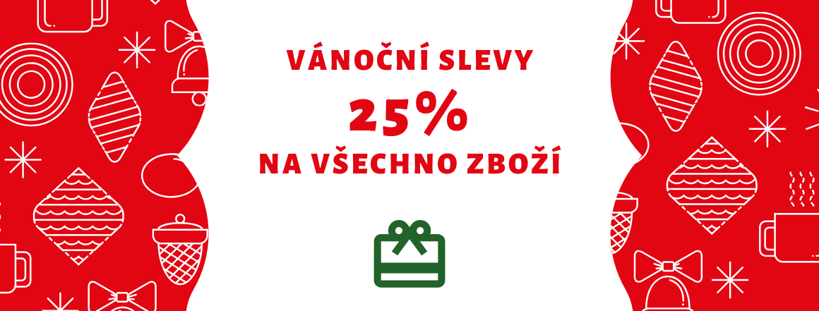Slevy 25%