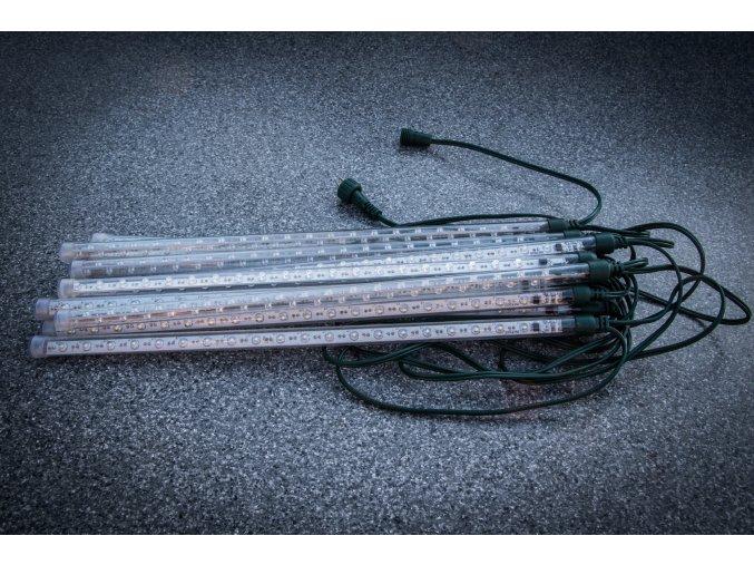 LED vánoční řetěz 12 trubic dl. 35 cm s efektem sněžení