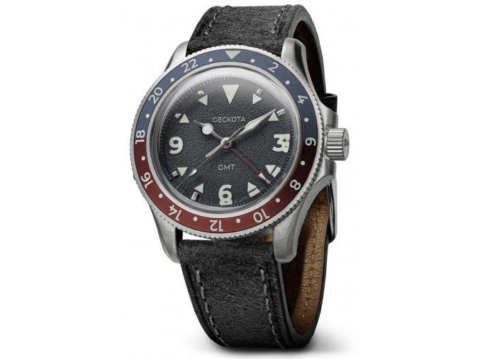 Geckota watch watch  G-02 Swiss Quartz 40mm GMT Limited Edition