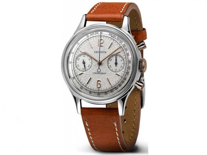 Geckota watch W-02 Vintage Mechanical Chronograph Dress Watch