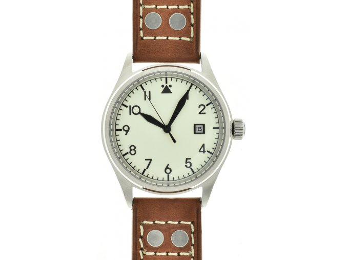TISELL Pilot Watch Lumina 42 mm