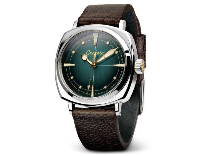 Geckota watch watch  G-01 300M 1950's NH35