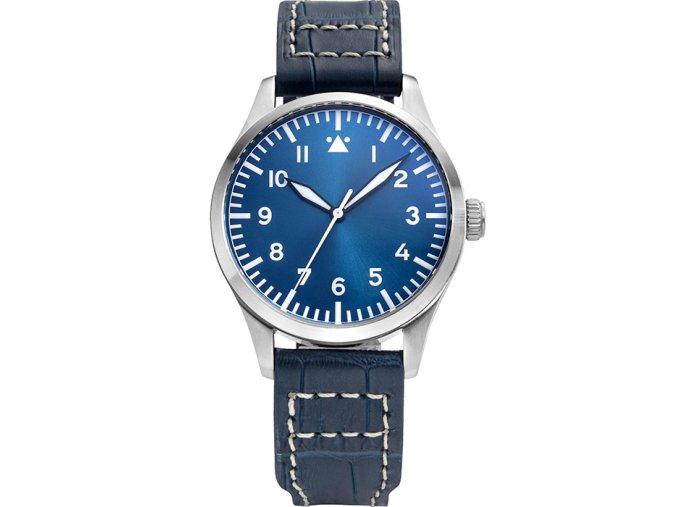 Watch Tisell  Pilot Watch 40 mm Blue
