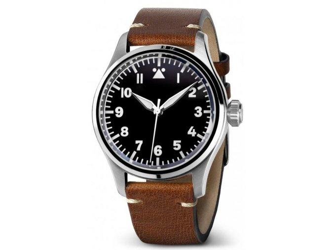Geckota watch watch  K-01 SWISS ETA 2824-2 Black