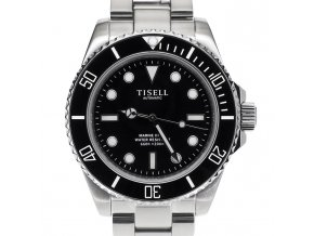 Watch Tisell  Automatic Diver Watch Black Without Date 40 mm