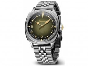 Geckota watch watch  G-01 Space Age Watch Green