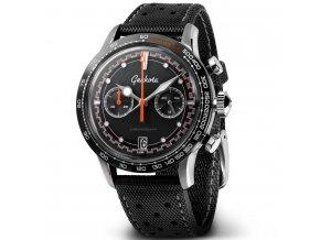 Geckota C-04 VK64 Space Age Racing Chronograph Watch Black