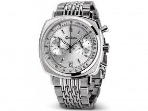 Geckota C-01 SII Racing Chronograph Silver