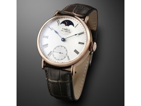 Watch Tisell  Watch No.167 Sun&Moon Rose Gold 43 mm