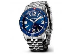 Geckota watch watch  S-01 Vintage Diver ETA 2824-2 Blue