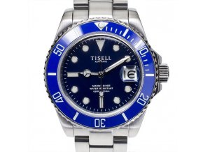 Watch Tisell  Automatic Diver Watch Blue 40 mm