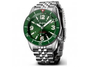 Geckota watch watch  S-01 Vintage Diver ETA 2824-2 Green