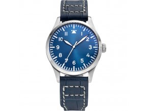 Watch Tisell  Pilot Watch 40 mm Blue