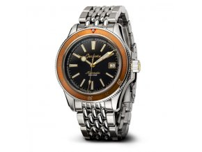 Geckota watch watch  G-02 Orange BoR Edition