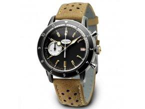 PROTOTYPE: Geckota watch watch  C-05 VK64 Vintage Chronograph Black
