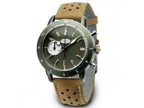 PROTOTYPE: Geckota watch watch  C-05 VK64 Vintage Chronograph Green