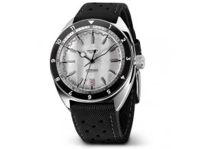 Geckota watch watch  Racing C-03 Automatic Watch White