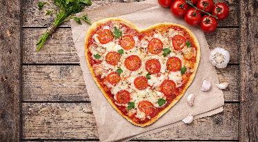Sváteční pizza ke Dni matek