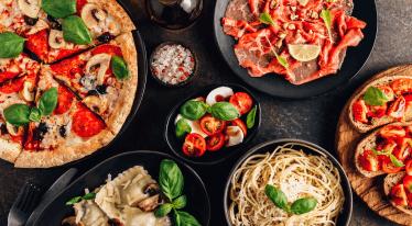 Typické suroviny italské kuchyně