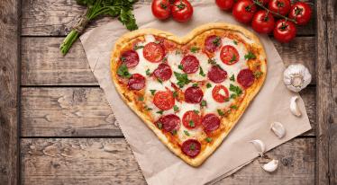 Speciální valentýnské menu