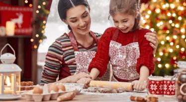 Vánoční pečení ze špaldové mouky