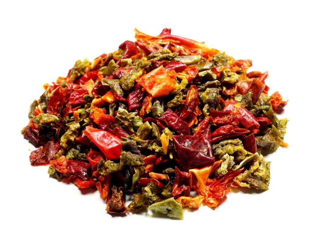 Sušená paprika Mix