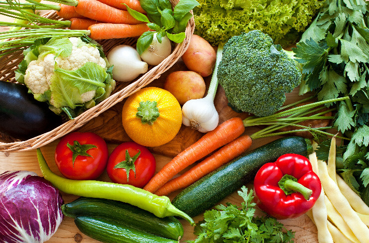 Sezónní ovoce a zelenina
