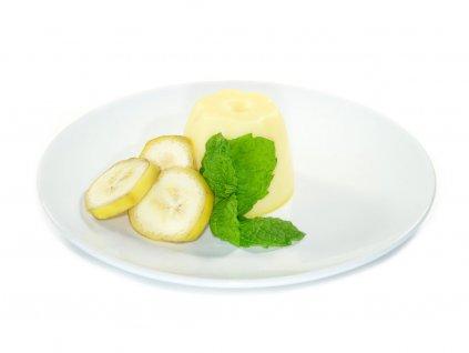 puding bananovy