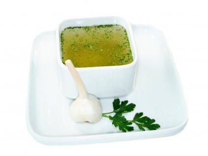 Česnekový vývar bez glutamátu