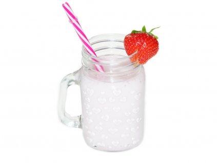 jahodovy napoj do mleka