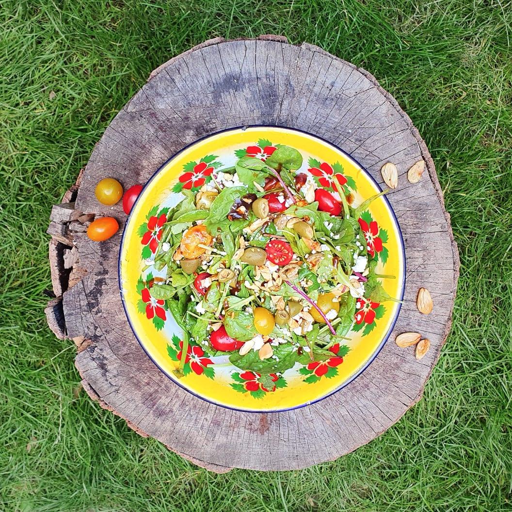 Mandlový salát