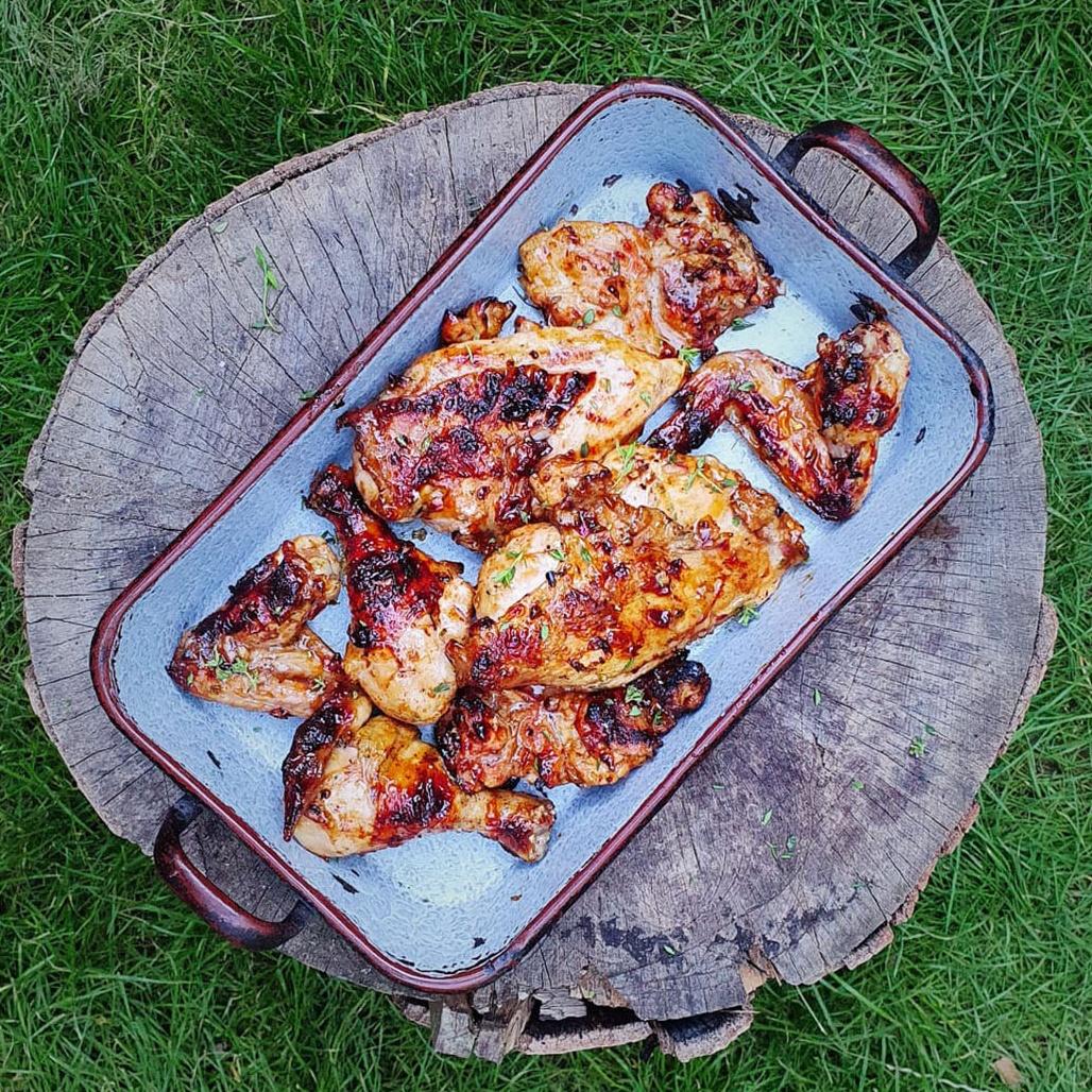 Meruňkové kuře