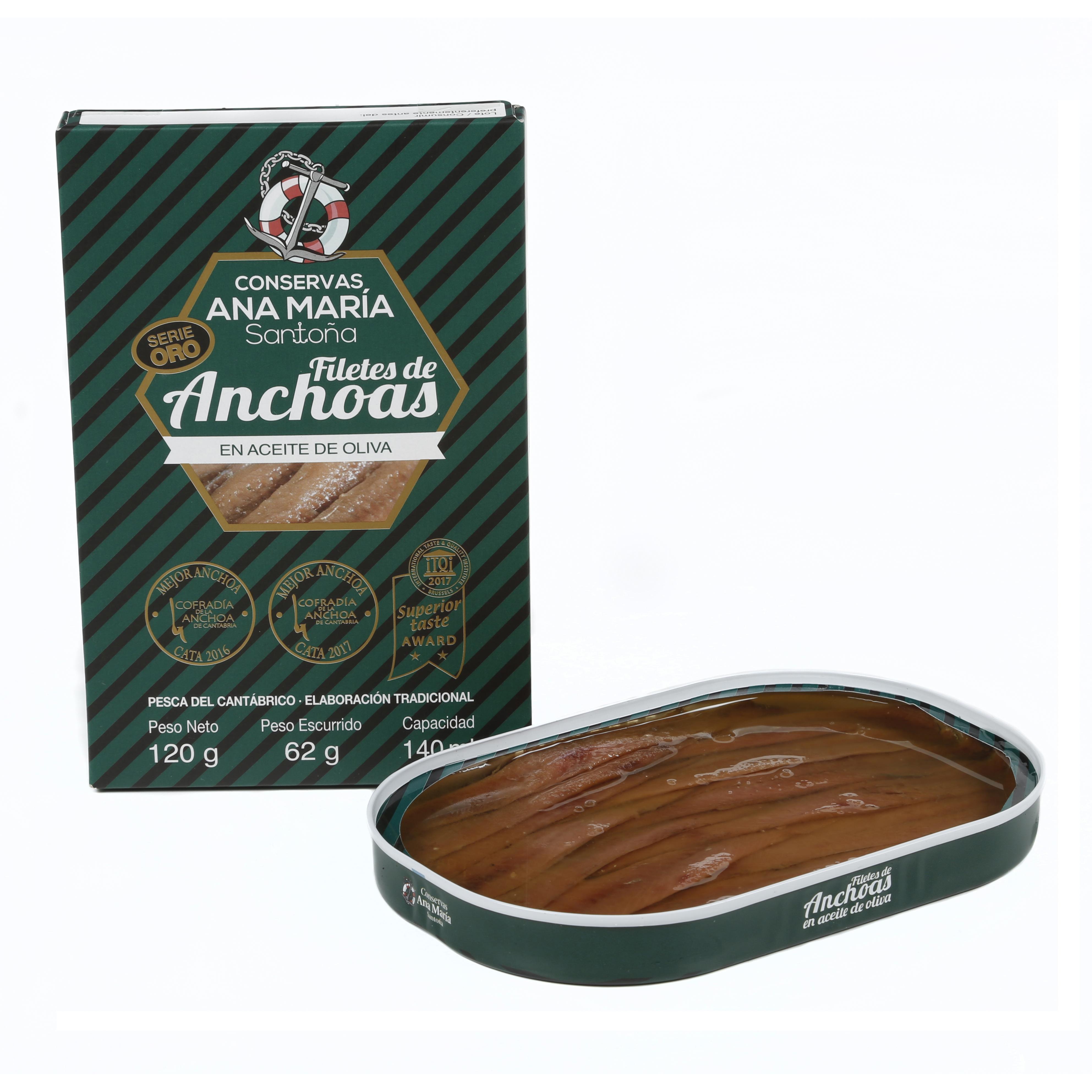 Ančovičky - plavba španělskou kuchyní