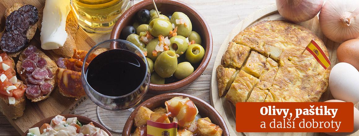 španělské delikatesy