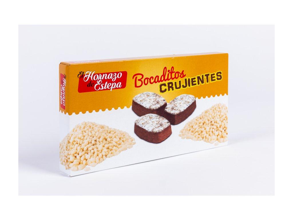 Kakaové bochánky s křupinkami