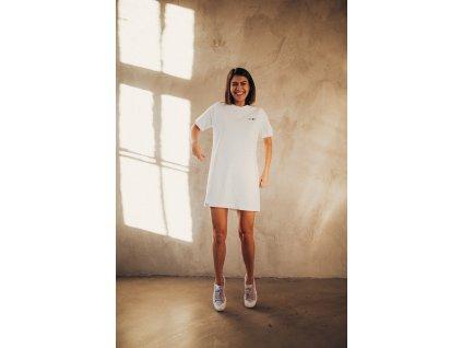 Bílé triko/šaty CHBMK