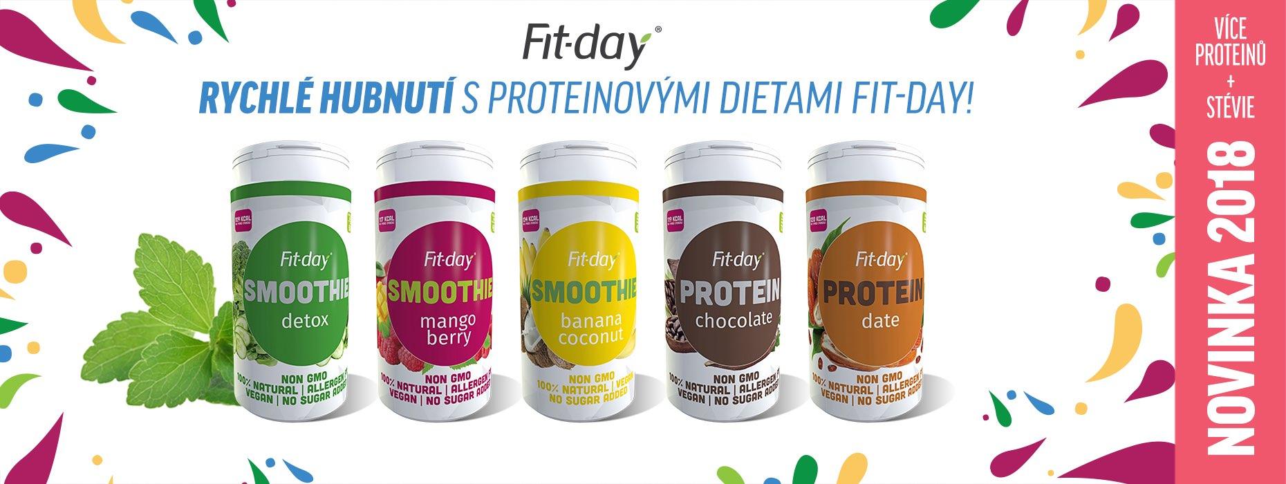 Proteinová dieta a detoxikace od fit-day